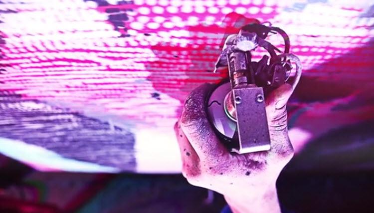 Un dispositivo que nos ayuda a pintar diferentes diseños en cualquier superficie