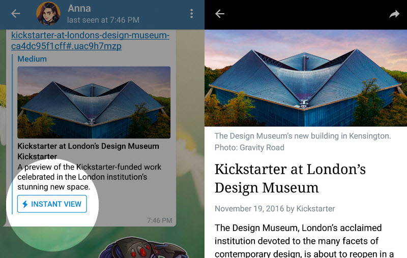 Telegram lanza plataforma de publicaciones y se actualiza con vista rápida de artículos, entre otras novedades