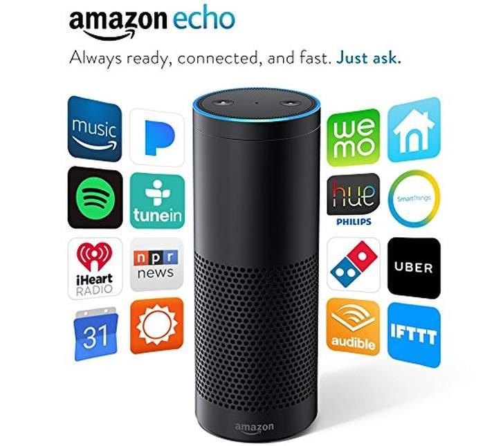 Imagen publicitaria de Amazon Echo