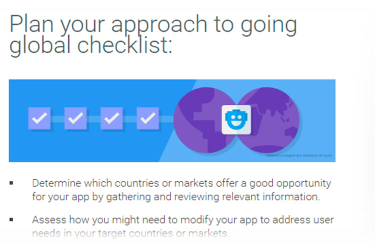 Nueva guía gratuita de Google para llevar nuestra app a nuevos mercados