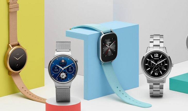 Relojes actuales con Android Wear