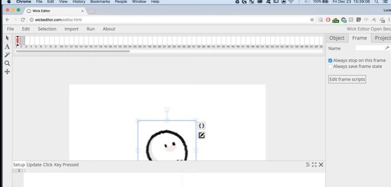 wickeditor, para crear proyectos animados en Internet
