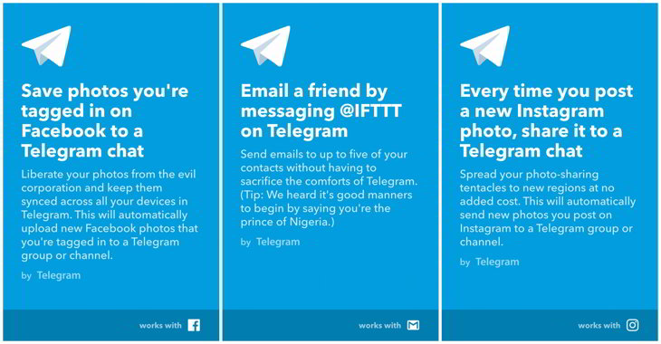 telegram-ifttt