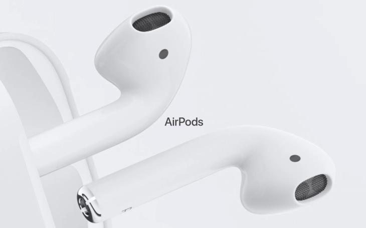 Imagen: Sección de AirPods en sitio web oficial de Apple
