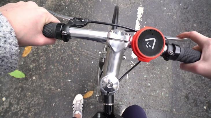 Beeline, un dispositivo para bicis que nos indica la dirección y distancia a nuestro destino