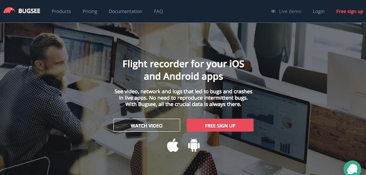 Bugsee facilita enormemente el proceso de corrección de los bugs de tu app