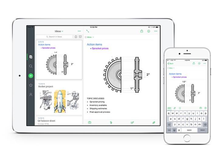 Evernote lanza nueva versión de su app para iOS estrenando experiencia simplificada