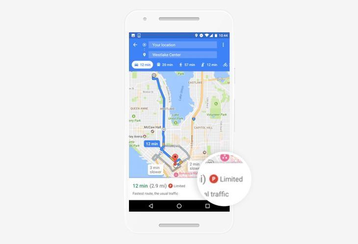 GoogleMapsParking
