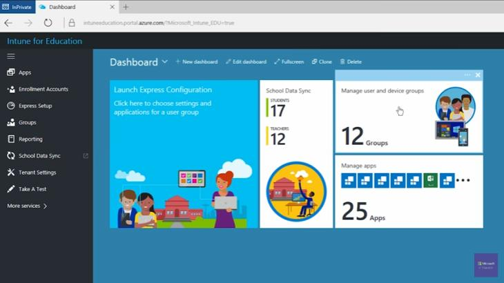 Intune for Education: nueva herramienta basada en la nube para gestionar dispositivos para aulas