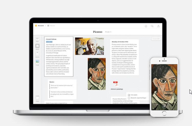 Milanote, una app que promete ser el Evernote para creativos