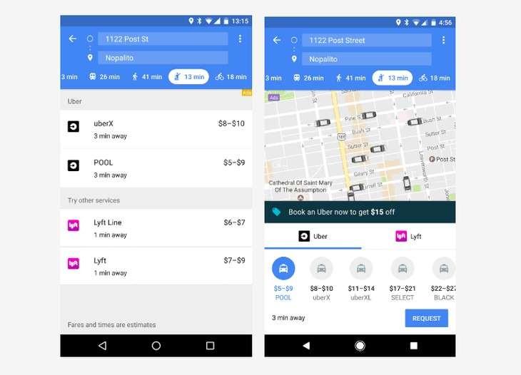 Imagen: Comparativa entre la versión anterior y la actual/Google Maps