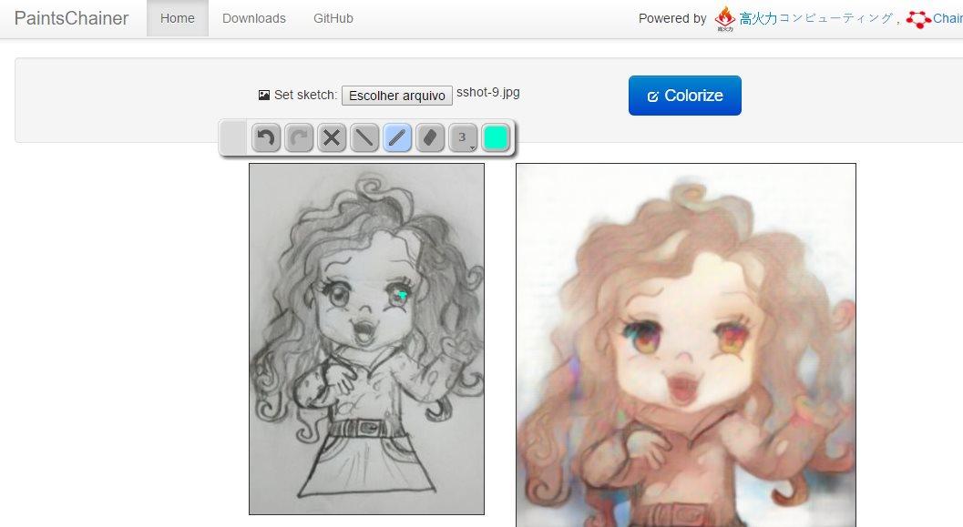 Una aplicación web que colorea automáticamente nuestros dibujos