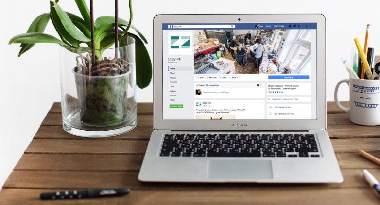ekko, para crear un sitio web a partir de una página de Facebook