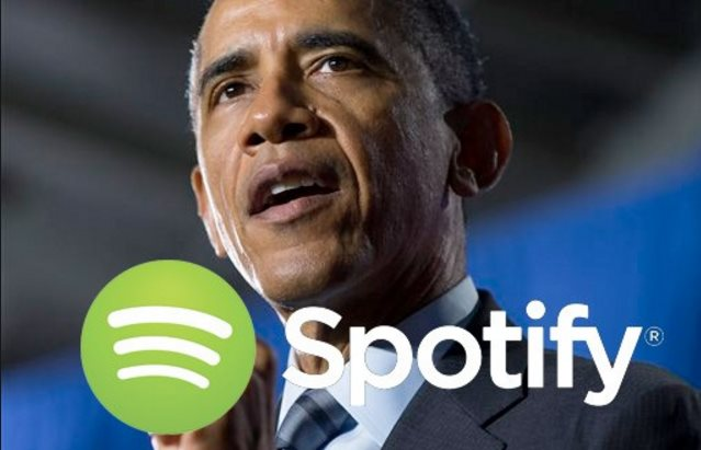 "Spotify ""quiere contratar"" al expresidente Obama"