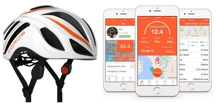 Un casco para ciclistas que transmite audio por los huesos