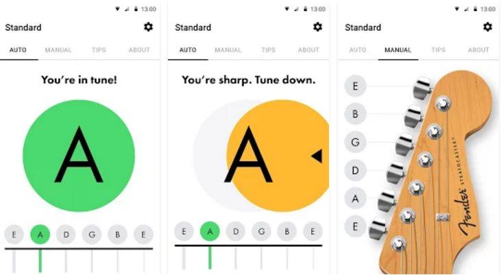 Fender llega a android con su app para guitarras