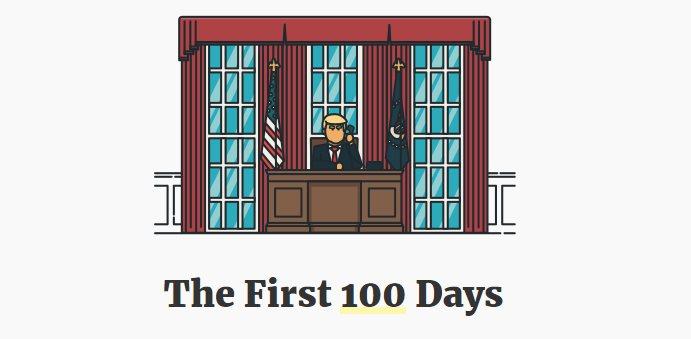 Dos sitios web para seguir de cerca las decisiones de Trump