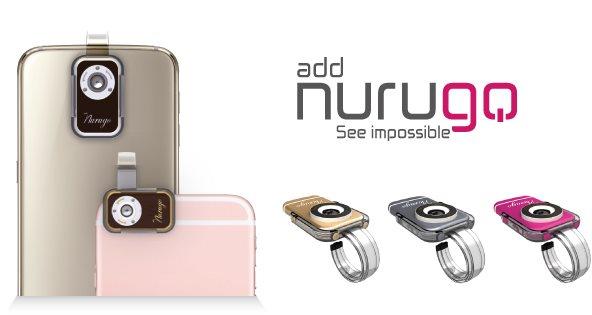 Nurugo micro, para transformar tu móvil en un microscopio