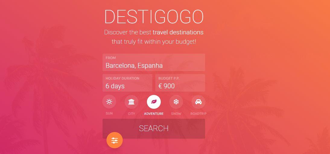 destigogo, una nueva web para encontrar nuestro próximo destino