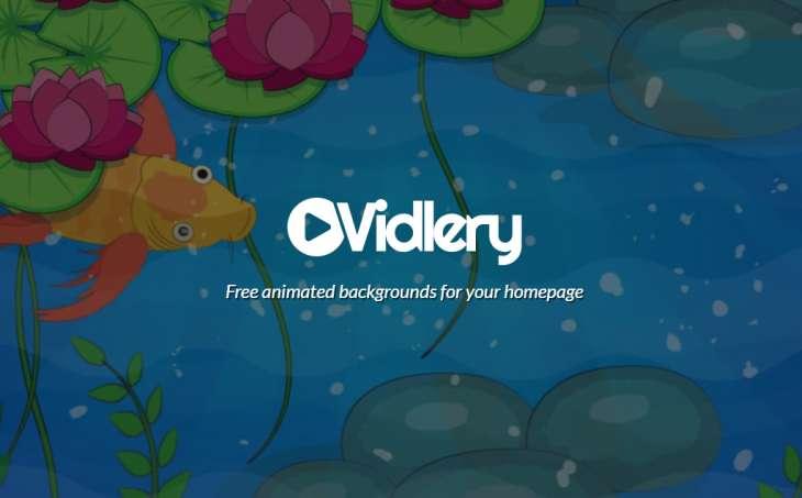 Esta web ofrece una colección de animaciones para usar como fondos en sitios web