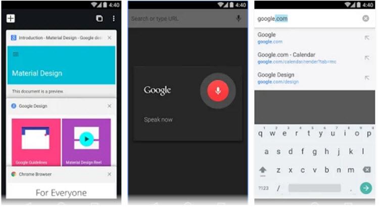 Chrome para Android se actualiza con nuevas funciones y mejor rendimiento