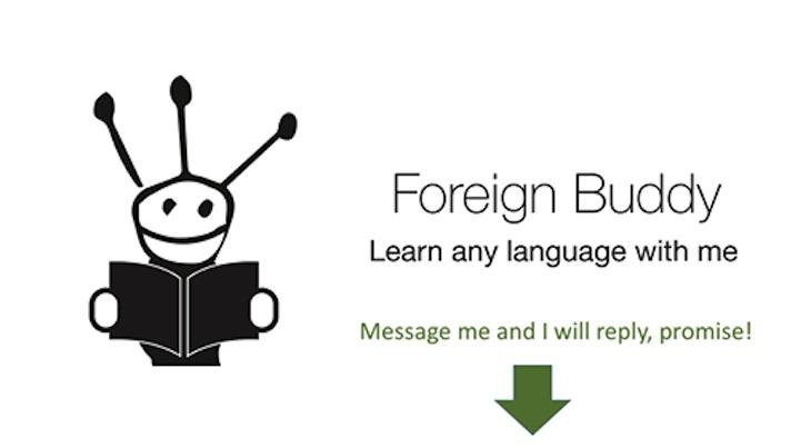 Foreign Buddy, un bot para contactar con otras personas y practicar diferentes idiomas