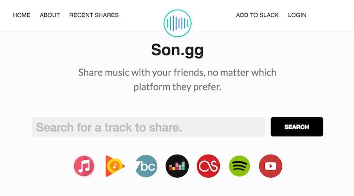 Una web para compartir música con nuestros amigos sin importar la plataforma que utilicen