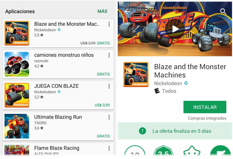 Google Play Store permite a los desarrolladores dar gratis sus apps de pago por tiempo limitado