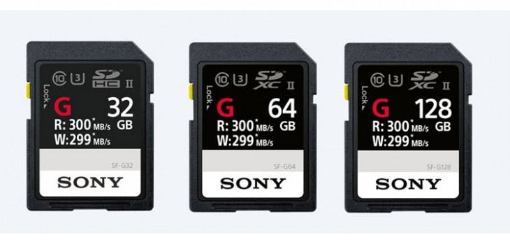 Tarjetas SD Sony