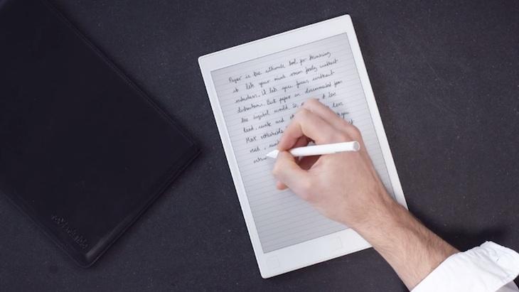 reMarkable, una tablet con batería de larga duración para los que prefieren el papel