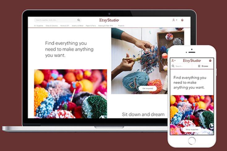 Etsy Studio, un nuevo proyecto de Etsy para ayudar a vender manualidades y artesanía