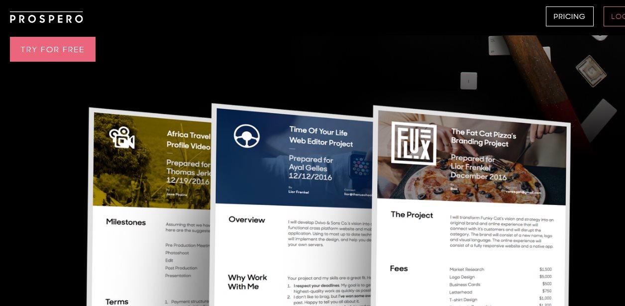 Una web para realizar propuestas comerciales elegantes