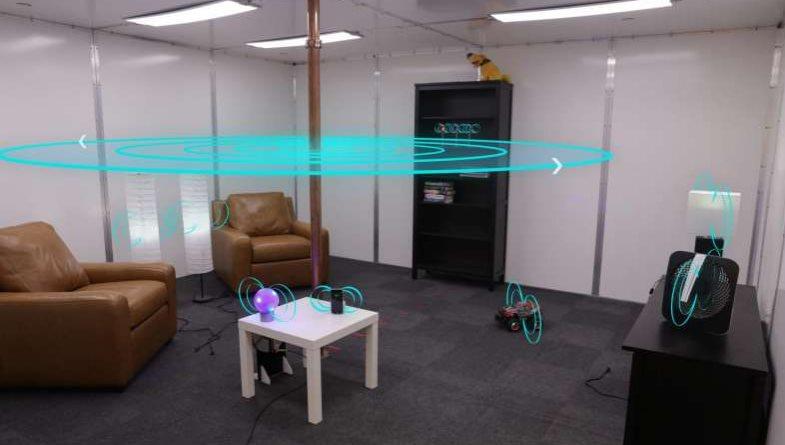 Este sistema podría cargar todos los dispositivos de una habitación sin usar cables