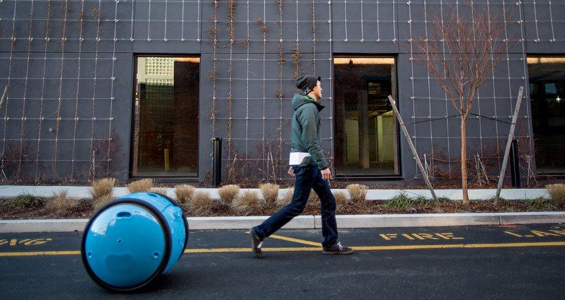 gita, un nuevo sistema de transporte autónomo