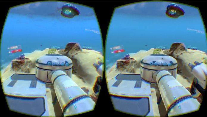 Realidad Virtual bajo el agua