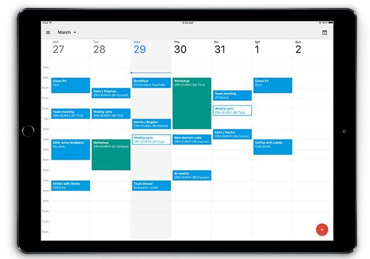 GoogleCalendar-iPad