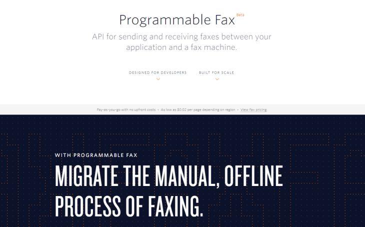 ProgrammableFax