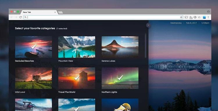 Una nueva opción para descubrir fotografías en cada nueva pestaña de Chrome