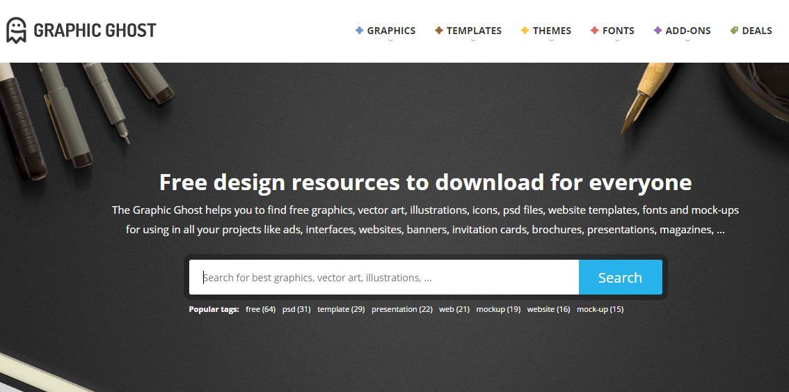 Graphic Ghost – recursos gratuitos para diseñadores