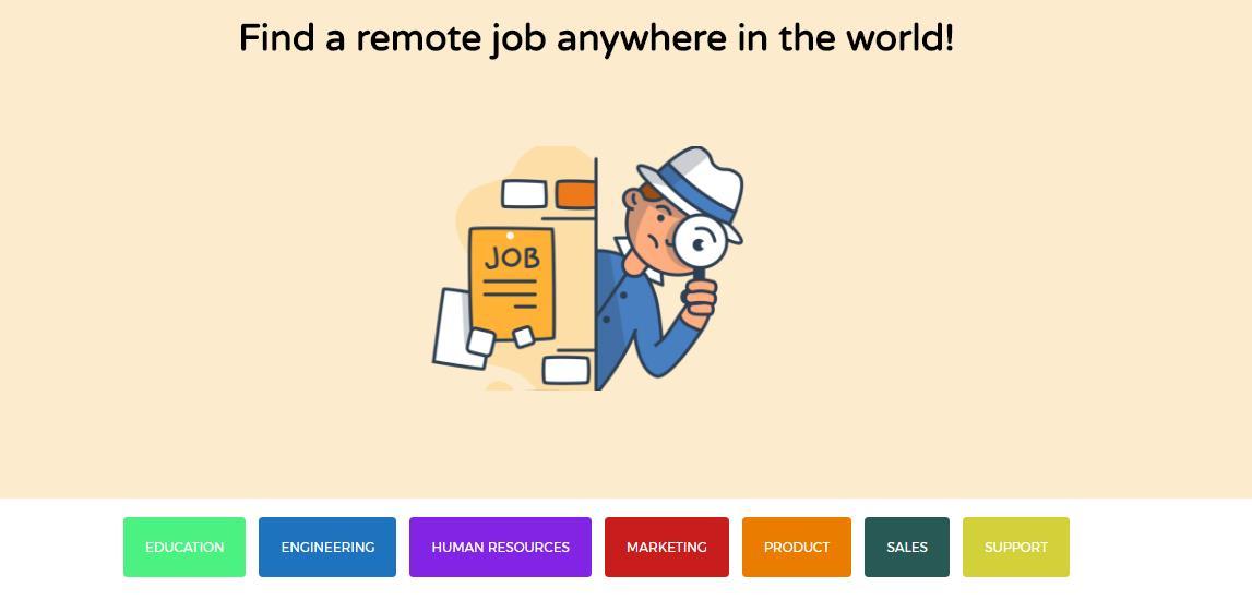 Remotive, un portal de empleo de trabajos que pueden hacerse desde casa