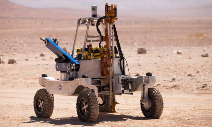 NASA prueba sus sistemas de detección de vida marciana en el desierto de Atacama