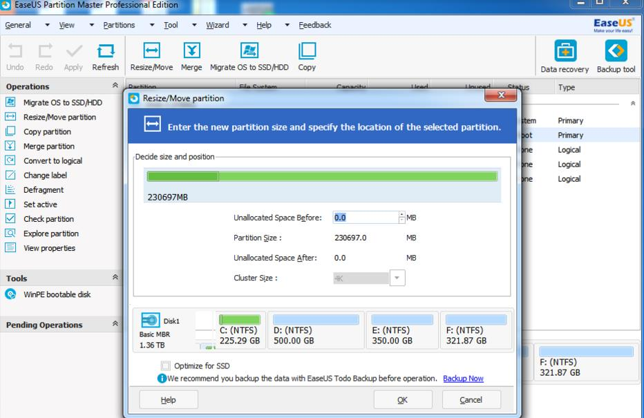 EaseUS Partition Master – para migrar de un Disco Duro a un SSD sin tener que reinstalar Windows, y mucho más