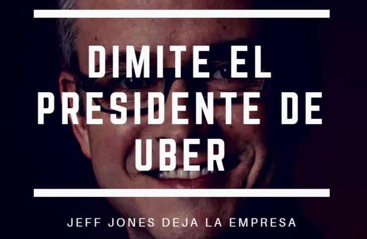 Dimite el presidente de Uber