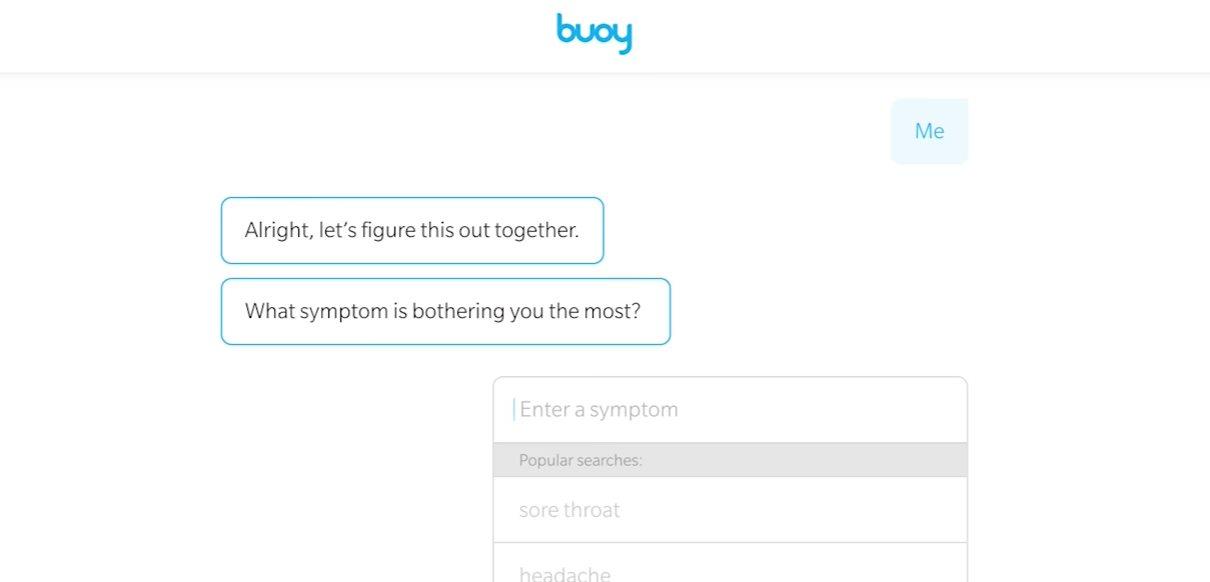 """buoy, un """"médico"""" programado con inteligencia artificial que te dice lo que tienes a partir de los síntomas"""