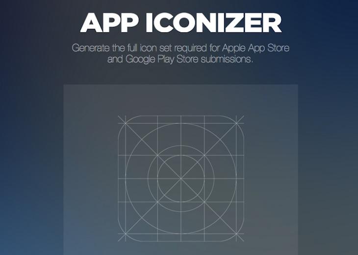 App Iconizer, para generar el set completo de iconos para la App Store y Google Play