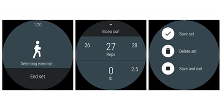 Google Fit para Android Wear ahora registra automáticamente los ejercicios de entrenamiento de fuerza