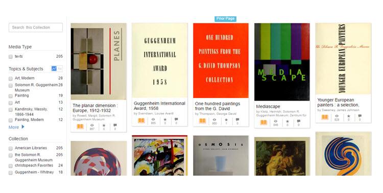 Más de 200 libros de arte para descargar de manera gratuita