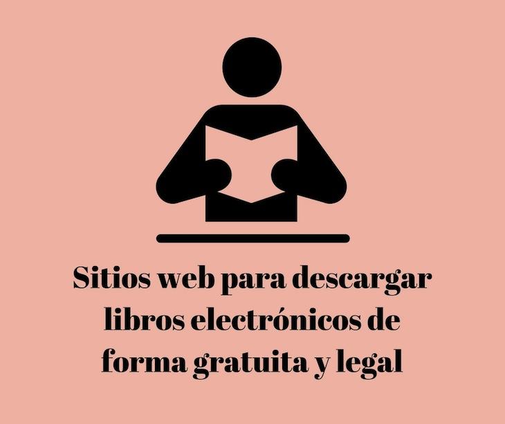 4 páginas para descargar libros electrónicos de forma gratuita y legal