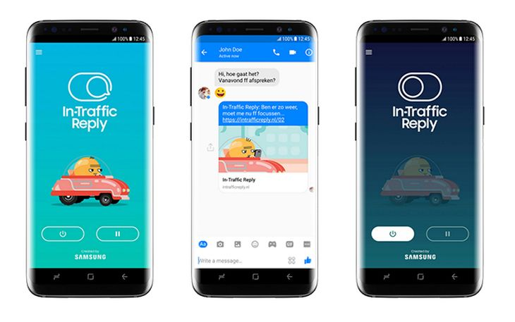 In-Traffic-Reply-App