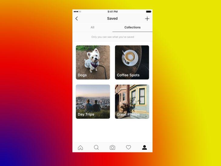 Instagram-Colecciones